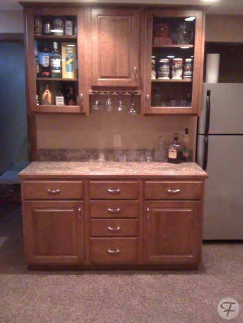 basement bar custom made kitchen cabinets and remodels