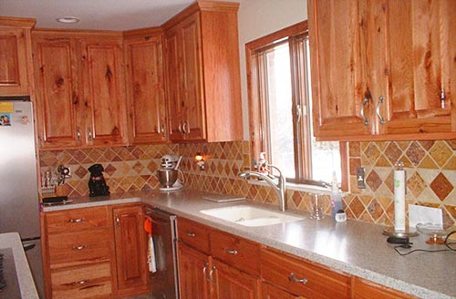 Outstanding Rustic Knotty Hickory Kitchen Cabinets 500 x 328 · 38 kB · jpeg