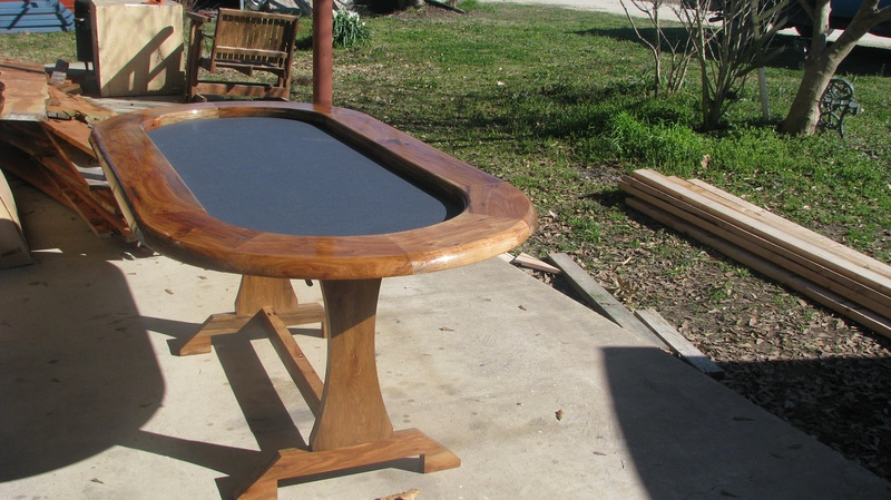 hickory poker table